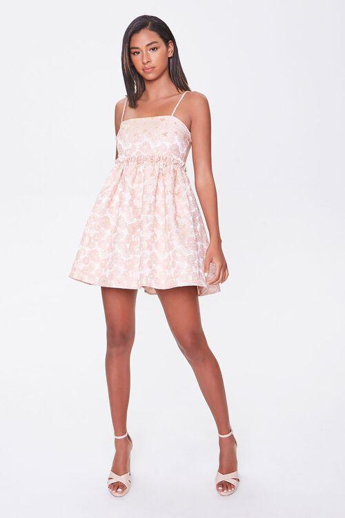 Jacquard Rose Print Dress, image 4