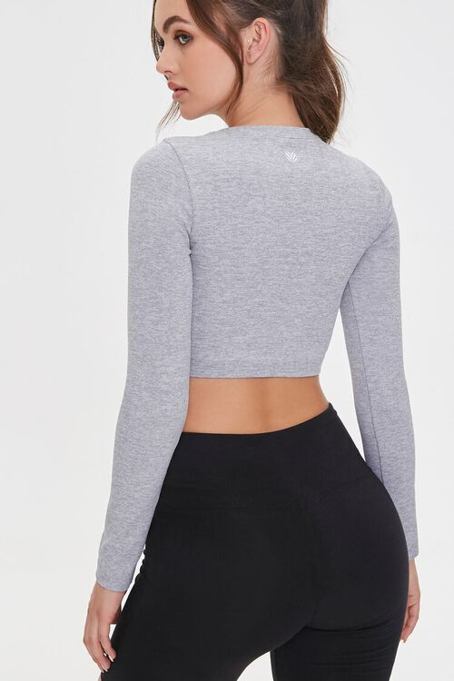 Active Seamless Heathered Top, image 3