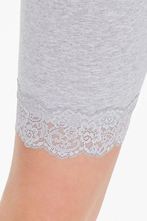 Lace-Trim Biker Shorts, image 6