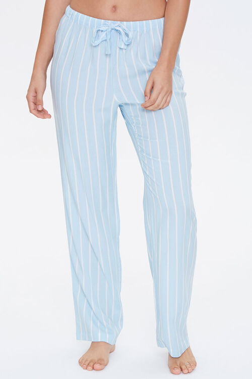 Pinstriped Pajama Pants, image 2