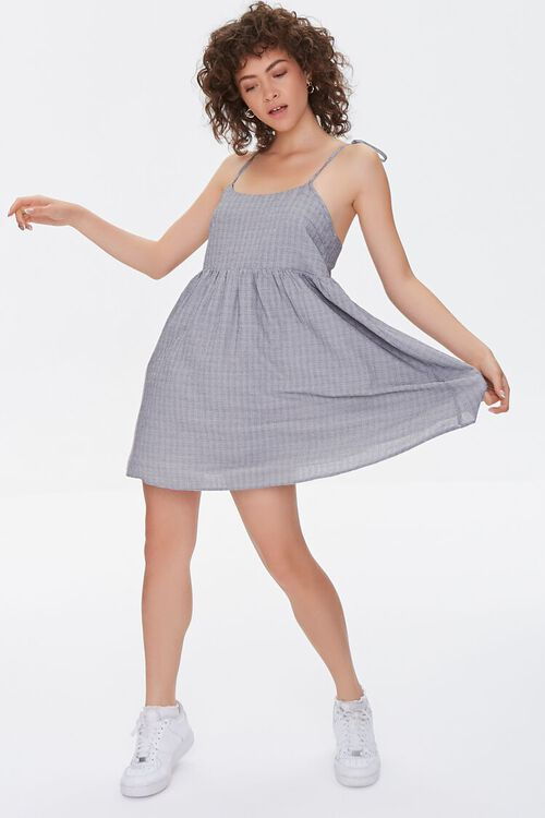 Self-Tie Cami Mini Dress, image 4