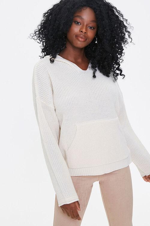 Hooded Drop-Sleeve Sweater, image 1