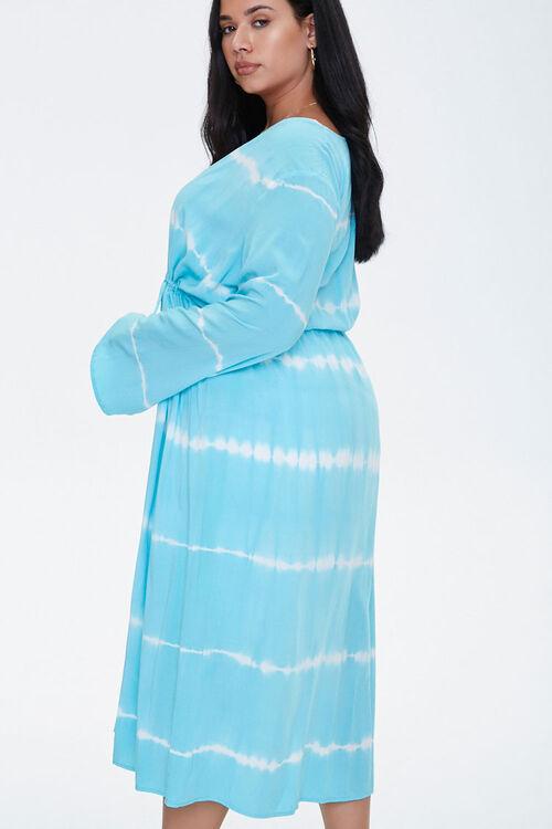 Plus Size Tie-Dye Kimono, image 2
