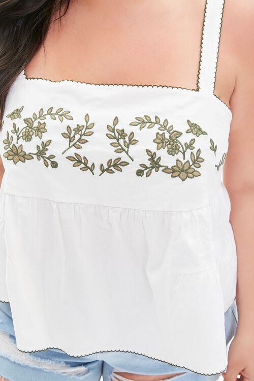Plus Size Embroidered Top, image 5
