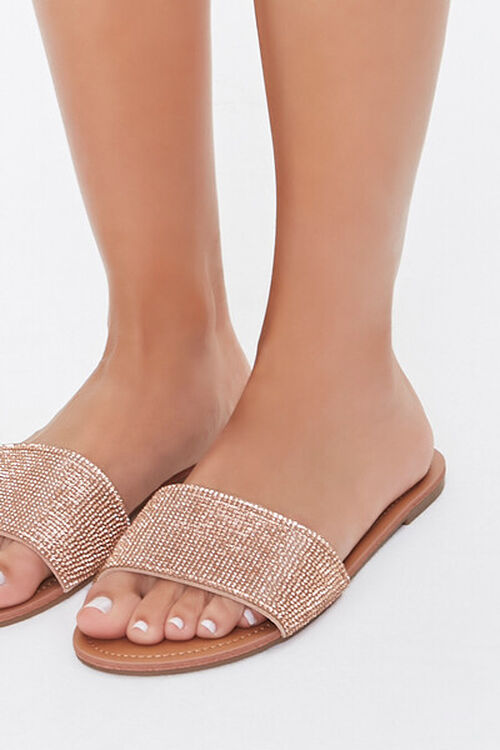 Rhinestone Flat Sandals, image 5
