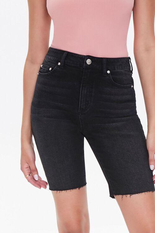 Denim Bermuda Shorts, image 1