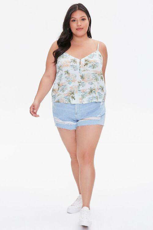 Plus Size Tropical Print Cami, image 4