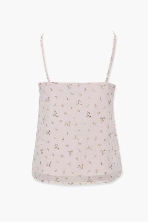 Floral Lace-Trim Cami, image 2