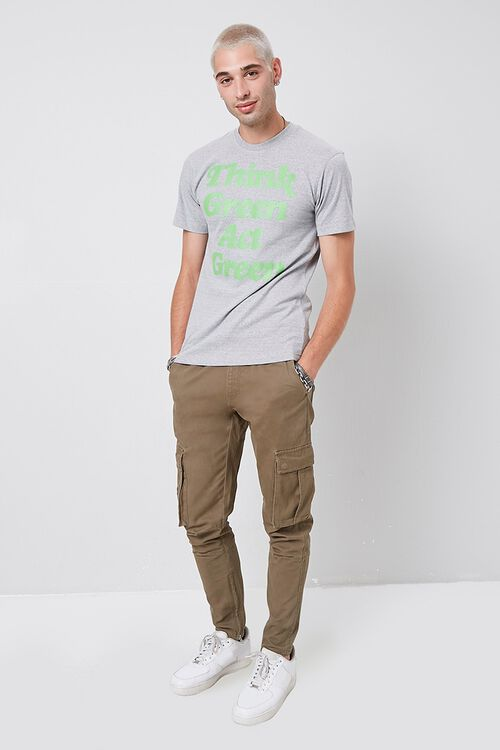 Think Green Act Green Graphic Tee, image 4