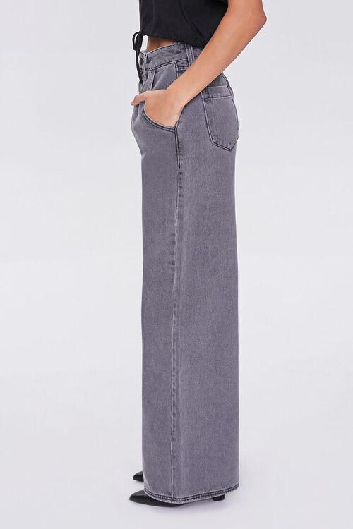 Wide Leg Denim Pants, image 3