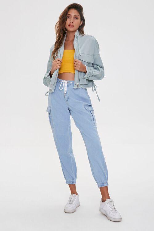 Frayed Twill Jacket, image 5
