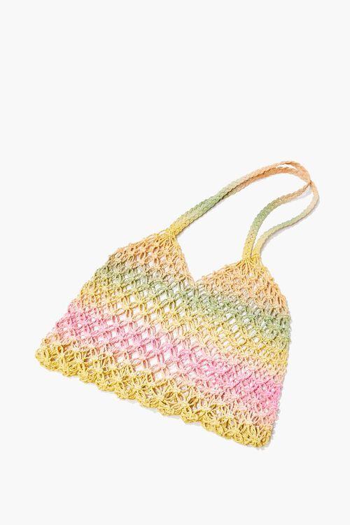 Striped Basketwoven Tote Bag, image 3