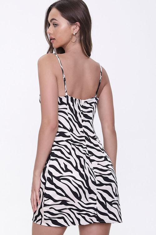 Tiger-Stripe Print Slip Dress, image 3