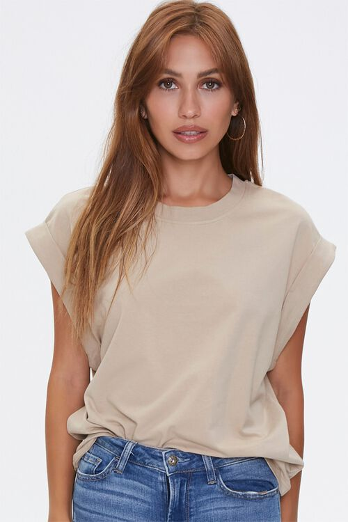 Cotton Muscle Tee, image 1