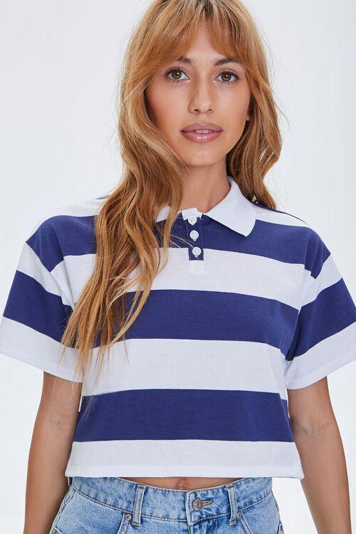 Striped Polo Shirt, image 1