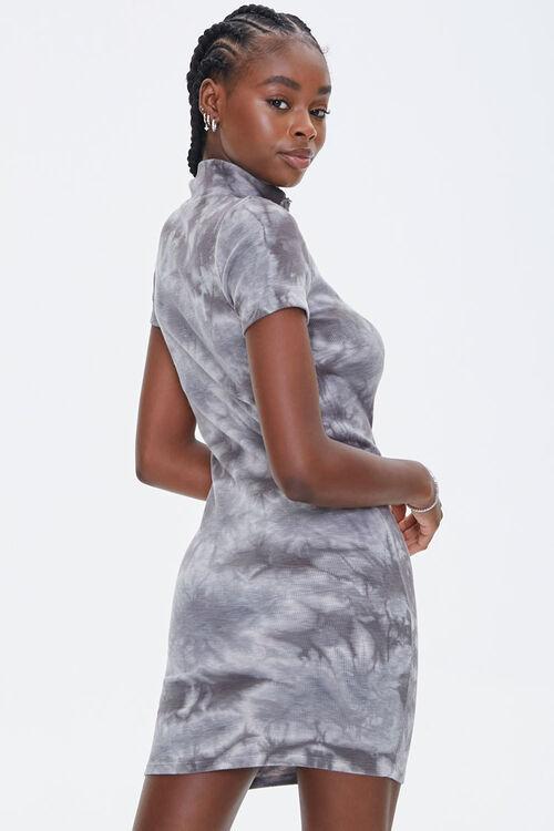 Tie-Dye Half-Zip Dress, image 3