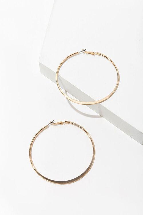 Oversized Hoop Earrings, image 2