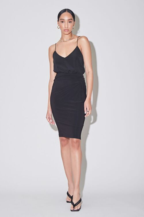 Knotted Pencil Skirt, image 6