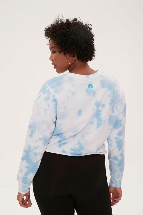 BLUE/MULTI Plus Size Tie-Dye Moxi Skates Top, image 4