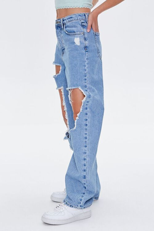 Premium Destroyed 90s Jeans, image 3