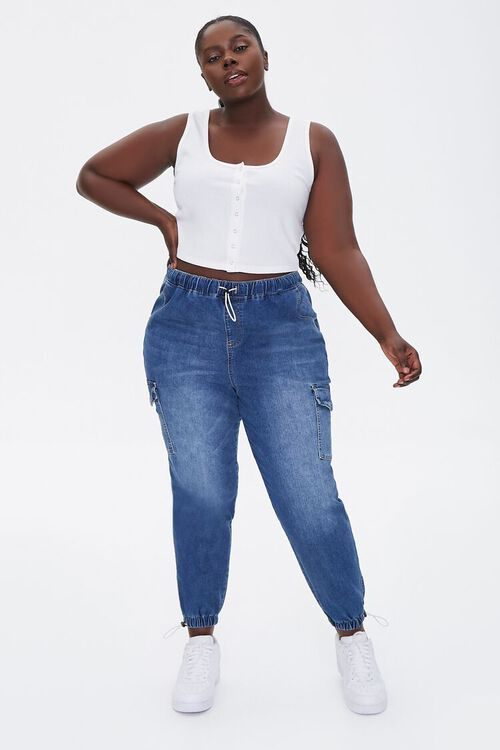 Plus Size Ribbed Tank Top, image 4