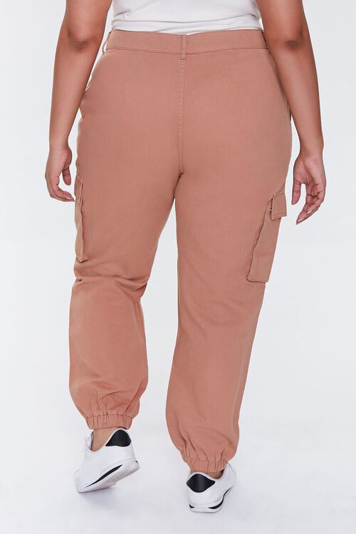 Plus Size Distressed Joggers, image 4