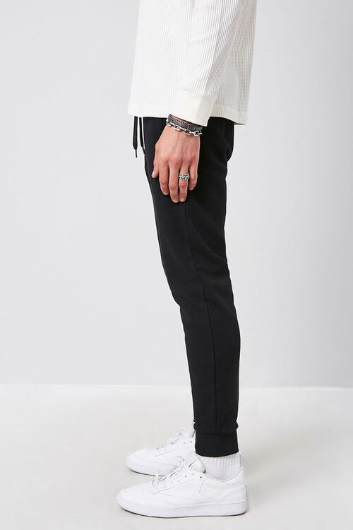 French Terry Knit Joggers, image 3