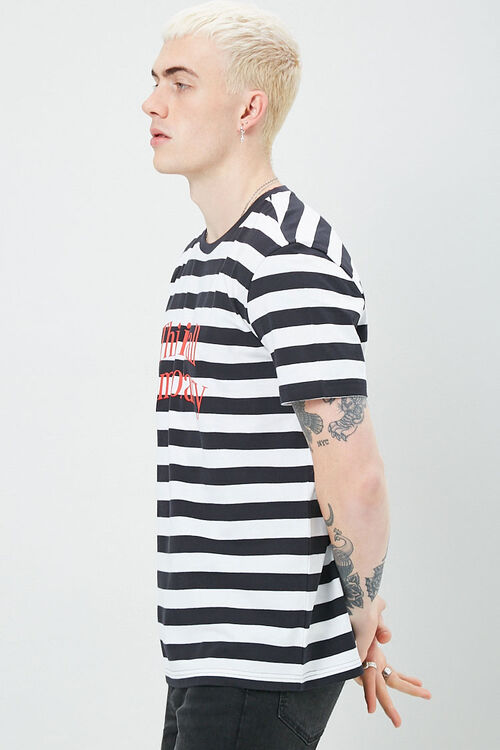 Striped Print Tee, image 2