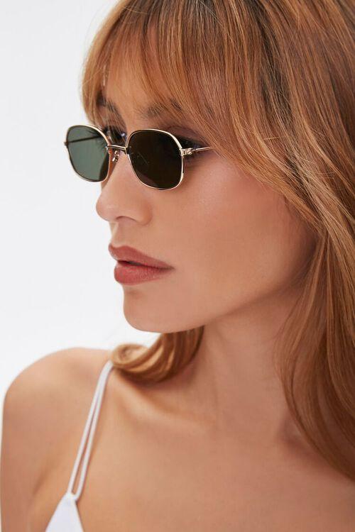 Oval Metal Sunglasses, image 2