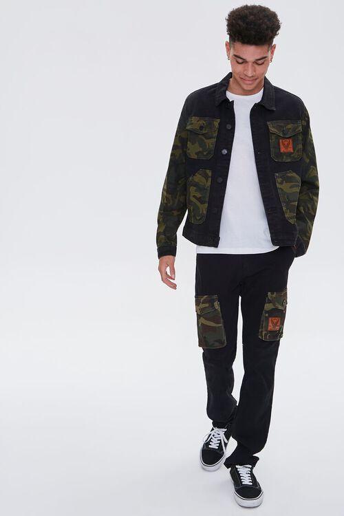 Reason Camo Cargo Jeans, image 1