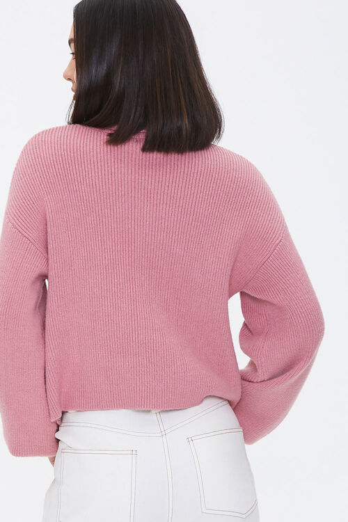 Ribbed Turtleneck Sweater, image 4