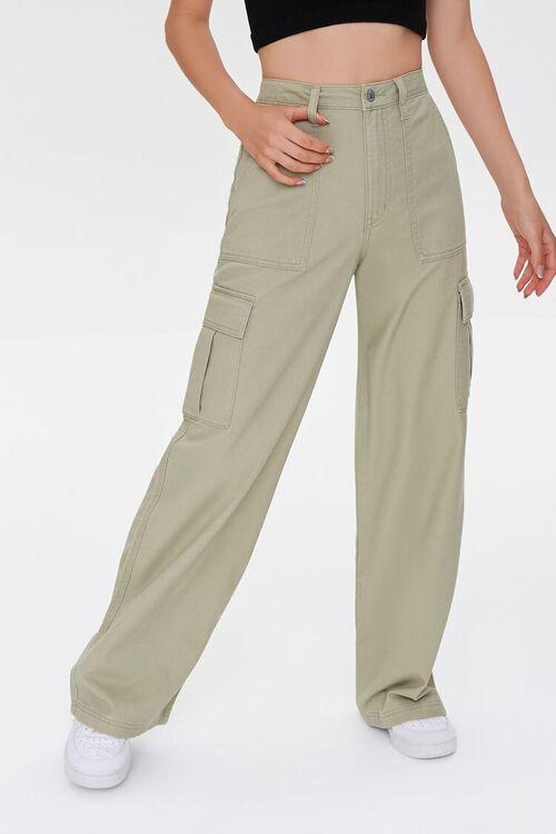 Straight-Leg Cargo Pants, image 2