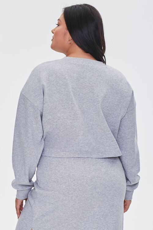 Plus Size French Terry Pullover, image 3
