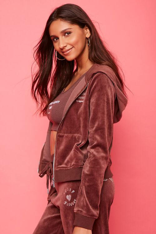 Juicy Couture Velour Zip-Up Jacket, image 3