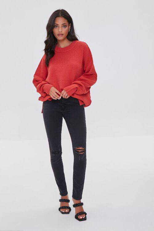 CORAL Dropped-Sleeve Sweater, image 4