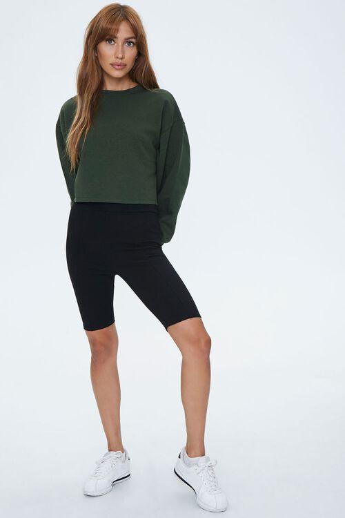 Fleece Drop-Sleeve Sweatshirt, image 4