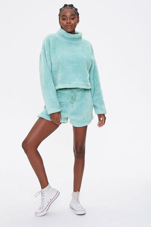 Plush Turtleneck Pullover, image 4