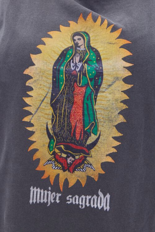 Plus Size Mujer Sagrada Graphic Muscle Tee, image 5
