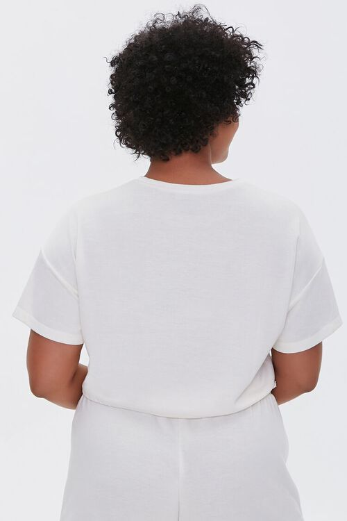 Plus Size French Terry Tee, image 3