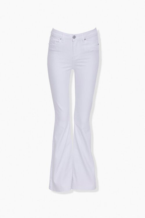 Mid-Rise Flare Jeans, image 1
