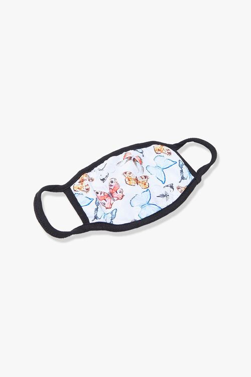 Butterfly Print Face Mask, image 1