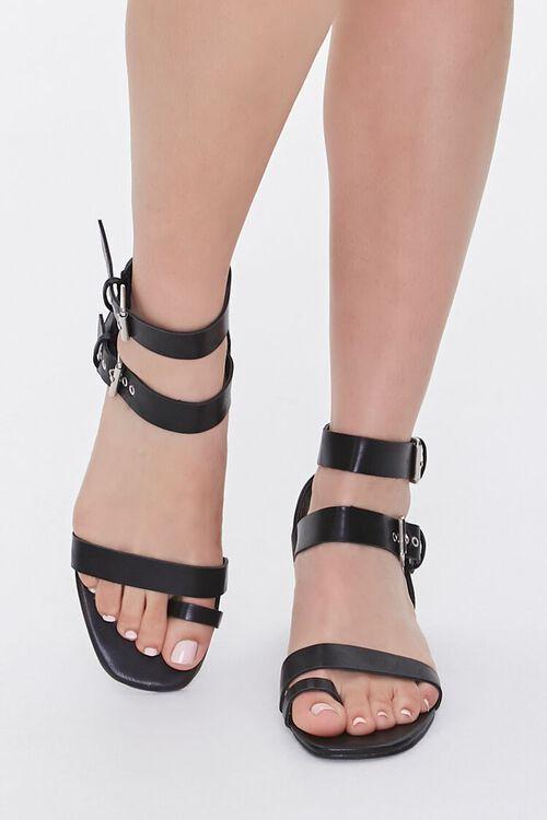 Caged Block Heel Sandals, image 4