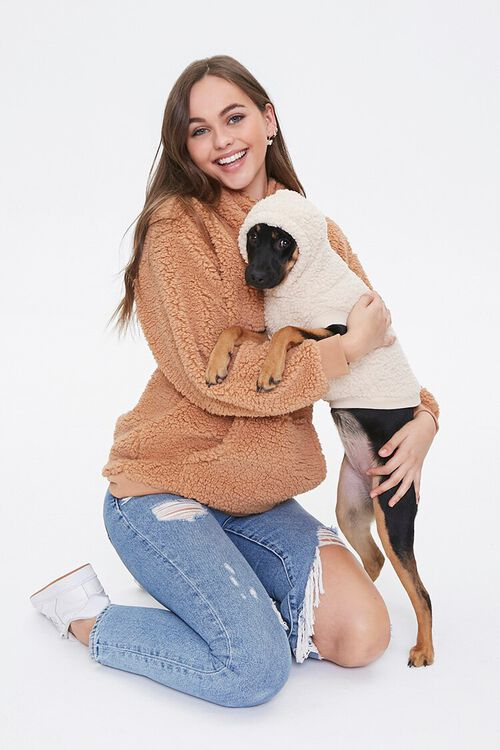 Faux Shearling Dog Sweater, image 3