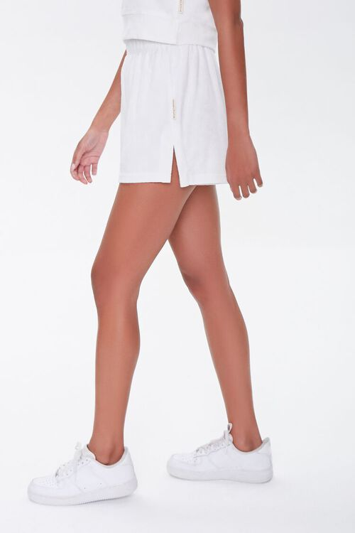 Kendall & Kylie Terrycloth Elastic Shorts, image 3