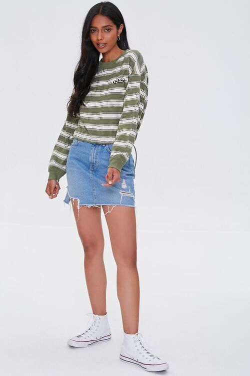NYC Graphic Striped Pullover, image 4