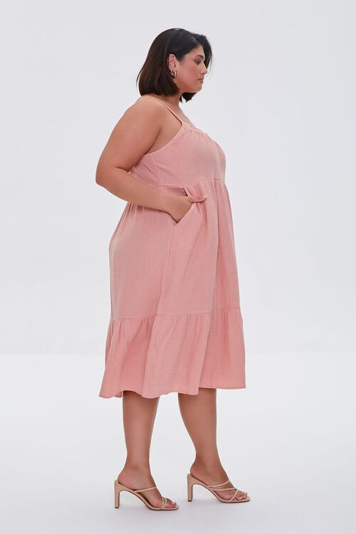Plus Size Tiered Cami Dress, image 2