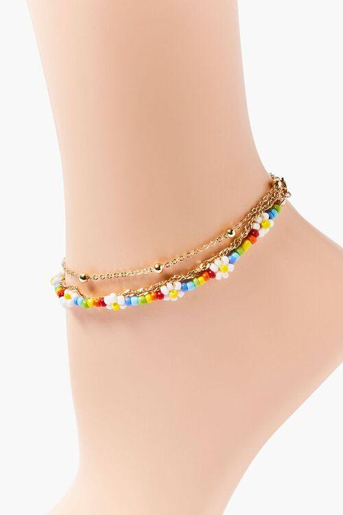 Daisy Charm Anklet Set, image 3
