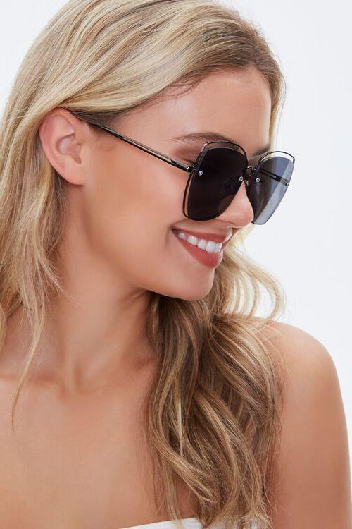 Cutout Metal Sunglasses, image 2