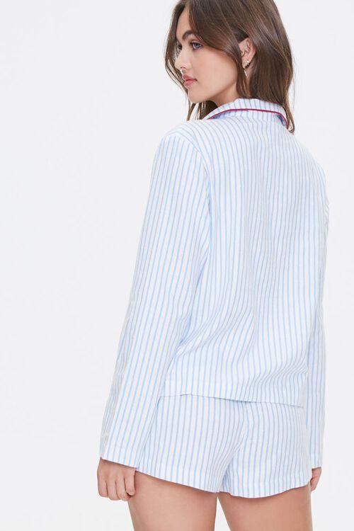 Striped Print Pajama Set, image 3
