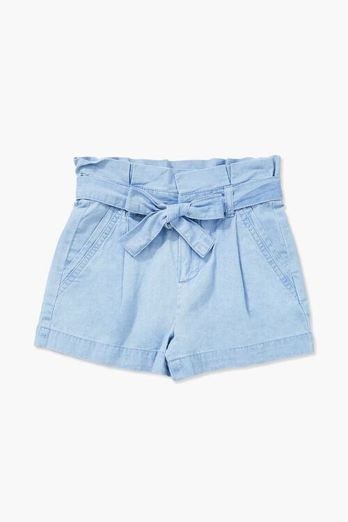 Girls Paperbag Shorts (Kids), image 1